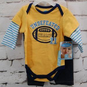infant 2pc. Bodysuit w/ jeans